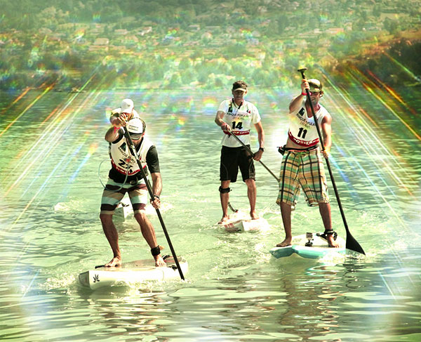 Les crazy paddle games Annecy 2013