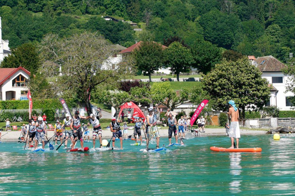Sup Race Annecy depart 16 juin 2013