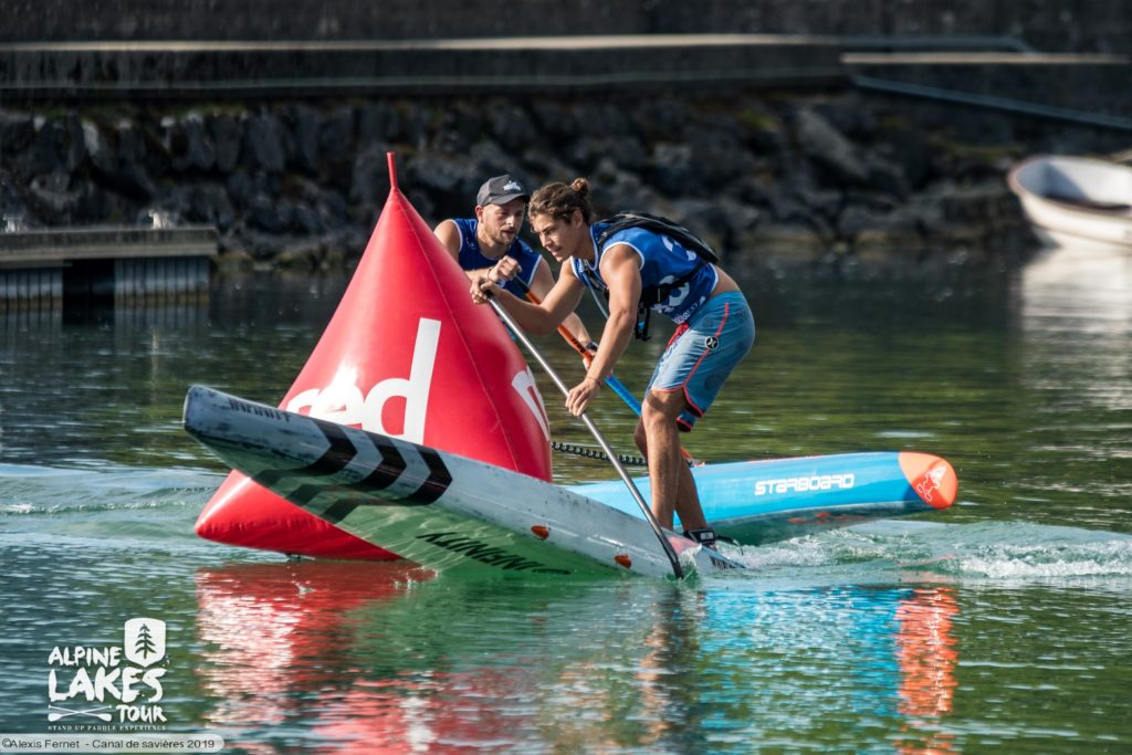 Canal de Savières Paddle course de l'Alpine Lakes Tour 2020