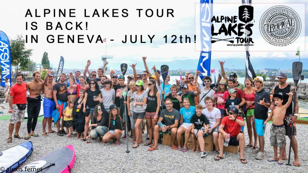 tropical race alpine lakes tour Genève