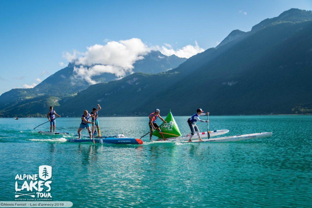 Championnats de France SUP Race eaux interieures Talloires lac d'Annecy 2020