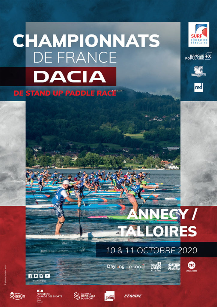 Championnats de France stand up paddle talloires