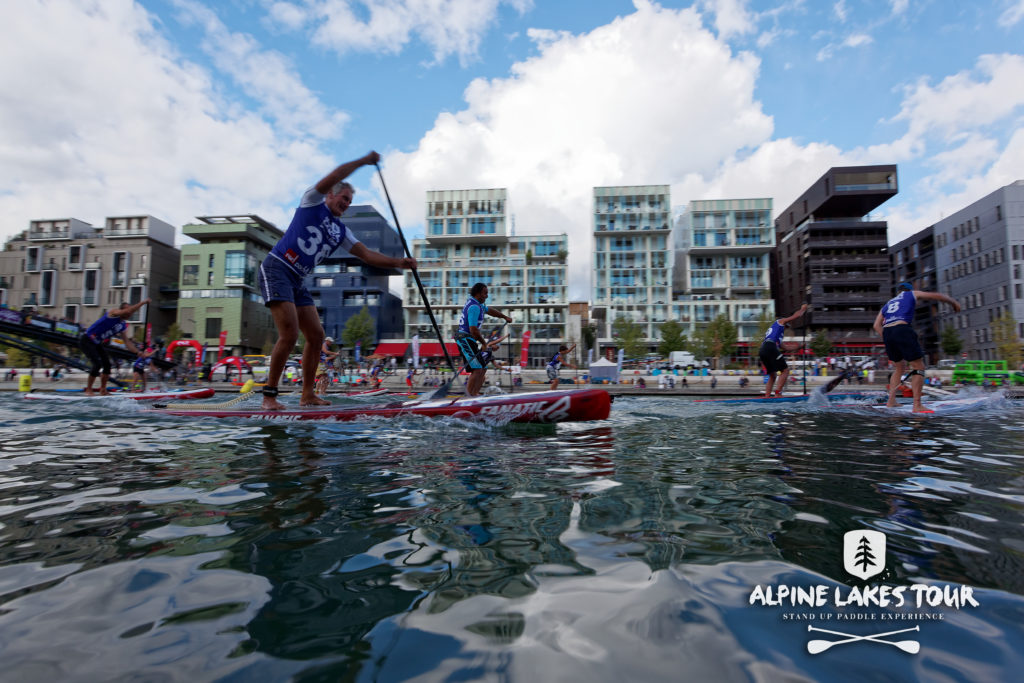 Lyon paddle show race